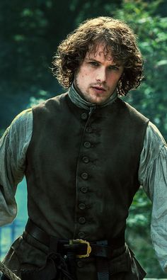 Sam Heughan as Jamie Fraser in you know he auditioned for Outlander 7 times, including as a member of the Night Watch? (I just left this from prior pin, don't know if there is any truth) Jamie Fraser, Claire Fraser, Jamie And Claire, James Fraser Outlander, Sam Heughan Outlander, Gabaldon Outlander, Diana Gabaldon, Fangirl, Outlander Season 1