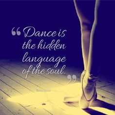 Great dancer quote from Martha Graham.
