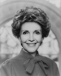 Nancy Davis Robbins Reagan, 1981–1989