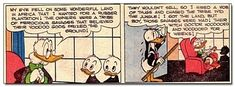 In an earlier comic, Scrooge hired a mob to chase some African natives off their land… so that he could establish a rubber plantation. | 19 Things You Didn't Know About Scrooge McDuck