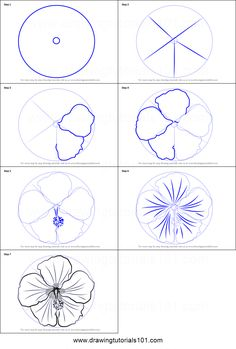 How to Draw a Shoe Flower step by step printable drawing sheet to print. Learn How to Draw a Shoe Flower Realistic Flower Drawing, Simple Flower Drawing, Easy Flower Drawings, Flower Art Drawing, Beautiful Flower Drawings, Flower Drawing Tutorials, Pencil Drawings Of Flowers, Easy Drawing Tutorial, Flower Sketches