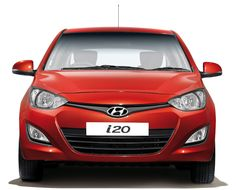 Front look of the Hyundai i20