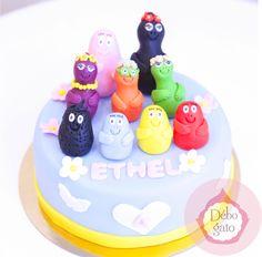 Gâteau Barbapapa, Gâteaux personnalisés, Gâteau d'anniversaire, Paris, Gourmandise, Anniversaire, Cake design Paris, Birthday Cake