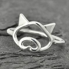 Pig ring little piggy ring 925 sterling silver by JubileJewel $25.00