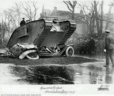 Early Tank 1918