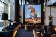 The Thief Hotel, Oslo, Norway - Pursuitist Six Hotel, Thomas Heatherwick, Design Café, Interior Design, Contemporary African Art, Wallpaper Magazine, Travel Wallpaper, Art Store, Oslo