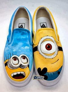 Minion shoes!