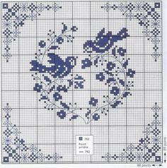 This would be an excellent pattern to project onto the wall for the giant cross stitch mural....