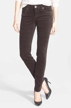 KUT from the Kloth 'Diana' Stretch Corduroy Skinny Pants (Regular & Petite)