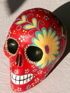 Mexican handpainted piece of art - imported to Australia for a new home <3