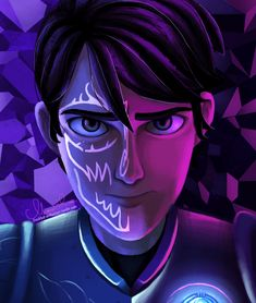 I can actually trollhunters dreamworks jim lake claire nuñez jim lake jr fanart my art sketch dump   freckled-enthusiast.tumblr.com