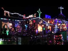 Christmas Lights in Hartenbos shining bright again.