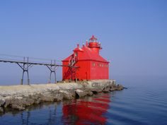 Canal Station Pierhead Light, Sturgeon Bay