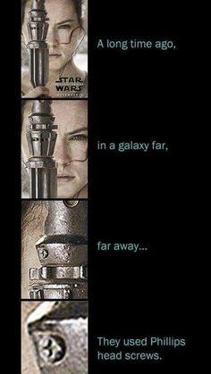 In a galaxy far away...
