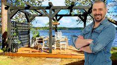 Vi i Villas hussnickare Björn Christiernsson tycker att alla borde bli med pergola. Här bjuder han på sina bästa byggtips!