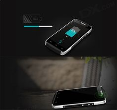 DOOGEE TITANS2 DG700 Android 5.0 Quad-Core WCDMA Bar Phone - Free Shipping - DealExtreme