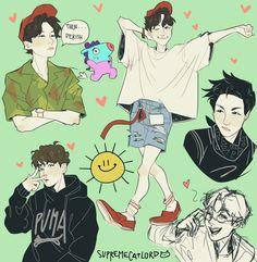 Character Inspiration, Character Art, Character Design, Fanart Bts, Bts Love, Nail Designer, Kpop Drawings, Fanarts Anime, Bts Chibi