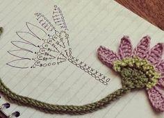 Irish crochet &: Цветы со схемами. Мотивы для Ирландского кружева