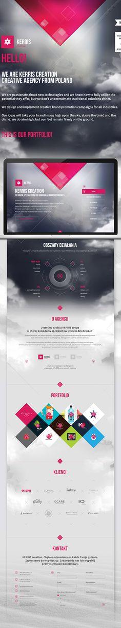 Kerris design https://www.behance.net/gallery/18686637/KERRIS-CREATION-Web-Design