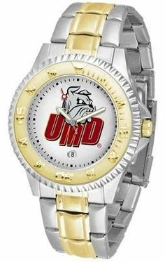University of Minnesota Duluth Men's Two Tone Dress Watch by SunTime. $86.95. Two-Tone Stainless Steel. Gold Ion-Plated Bezel-Date Function. Links Make Watch Adjustable. Men. Officially Licensed Minnesota Duluth UMD Bulldogs Men's Two Tone Dress Watch. Minesota Duluth Bulldogs men's two tone gold and stainless steel dress watch. This Bulldogs timepiece offers men a classic, business-appropriate look. Features a gold ion-plated bezel, stainless steel case and date function. ...