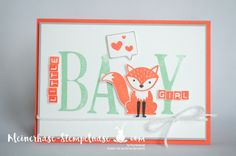 Stampin Up Bernau Berlin Foxy Friends Baby letters for you labeler Letters Fuchs Geburt (1)                                                                                                                                                                                 Mehr