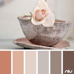 blush cup (object) Color Palette - Paint Inspiration- Paint Colors- Paint Palette- Color- Design Inspiration