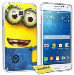 FoneExpert® Galaxy Grand Prime - Etui Housse Coque TPU Gel Cover Case pour Samsung Galaxy Grand Prime SM-G530 G530FZ + Film de Protection d'Ecran (Minion 1): Amazon.fr: Jeux et Jouets