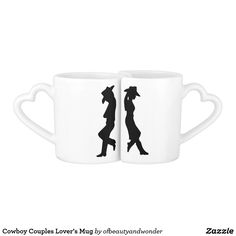 Cowboy Couples Lover& Mug - home gifts ideas decor special unique custom individual customized individualized Simple Gifts, Love Gifts, Great Gifts, Personalized Products, Customized Gifts, Mug Diy, Match Making, Romantic Gifts, Mugs Set