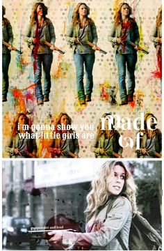 Jo Harvelle: I'm gonna show you what little girls are made of. Gunpowder and lead. Supernatural Tv Show, Supernatural Seasons, Alona Tal, Jo Harvelle, 67 Impala, New Actors, Winchester Boys, Army Men, Misha Collins