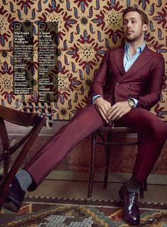 Ryan Gosling inaugura el año de portadas para GQ USA, con su aparición en la edición de enero bajo el lente del fotógrafo Craig McDean.