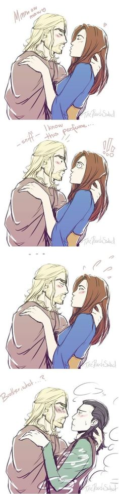 Omg this is awesome ... Don't really ship Thorki but I like them
