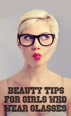How To Beauty : Beauty tips for girls who wear glasses #makeup_tips