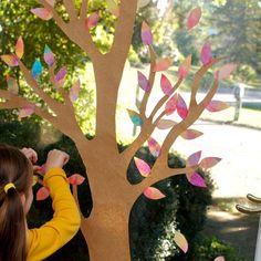 Výsledek obrázku pro podzimní dekorace do oken