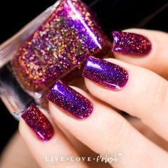 FUN Lacquer Cheers To The Holidays (H) Nail Polish