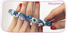 Peyote with a Twist - tutorial. Bracelet Patterns, Friendship Bracelets, Beads, Blog, Crafts, Jewelry, Points, Sorting, Fashion