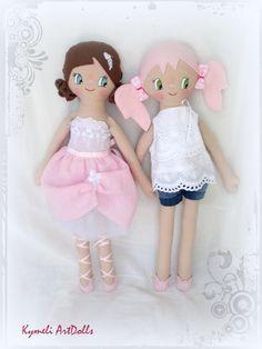 Dolls for play by Kymeli ArtDolls (50cm)