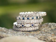 Discover beyond conflict free diamonds and stunning engagement rings. Brilliant Earth is the global leader in ethically sourced fine jewelry. Diamond Stacking Rings, Eternity Ring Diamond, Diamond Wedding Rings, Stackable Rings, Stackable Birthstone Rings, Eternity Bands, Diamond Jewelry, Gold Rings, Stacked Wedding Bands