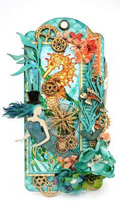 Creative Embellishments Steampunk tag, G45 Voyage Beneath the Sea,Maggi Harding (1)