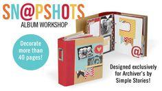 Sn@pshots Album Workshop