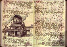Inside Guillermo Del Toro's notebooks | - D N S -