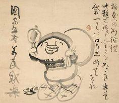 仙がい義梵 Daikokuten-zu