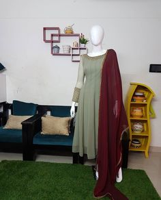 Churidhar Designs, Anarkali, Stitch, Full Stop, Anarkali Suits, Sew, Stitches, Embroidery