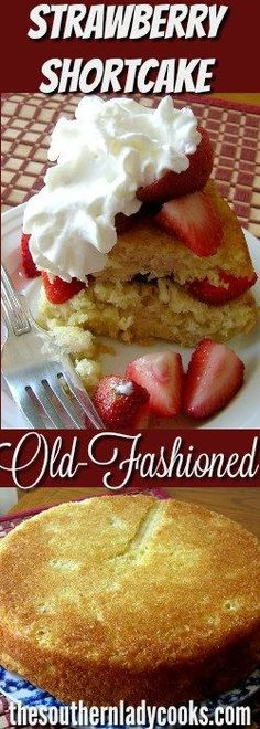 Strawberry shortcake is a great dessert to enjoy during the summer months or just anytime. This shortcake is delicious and easy to prepare.