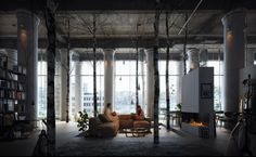 In this collection we've put together some of the entries of the Evermotion 'Whole Lotta Loft' competition that are sure to blow your mind. Incredible designers