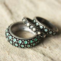 brand retro silvery ring $12.5