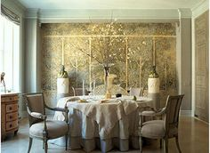 COTE DE TEXAS: Dining Rooms Serve up Eye Candy