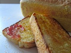 English Muffin Bread - slightly adapted from America's Test Kitchen. AMAZing. www.homebeccanomics.com