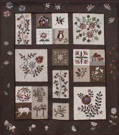 Yoko Saito applique designs Yoko Saito, Applique Patterns, Applique Quilts, Applique Designs, Quilt Patterns, Patchwork Quilting, Crazy Patchwork, Patchwork Patterns, Embroidery Designs