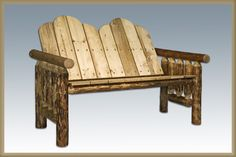 Montana Woodworks MWGCDB Deck Bench Exterior Glacier Country Finish
