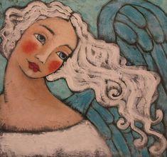 Christian Art | Angels: Angel-heavenleighart